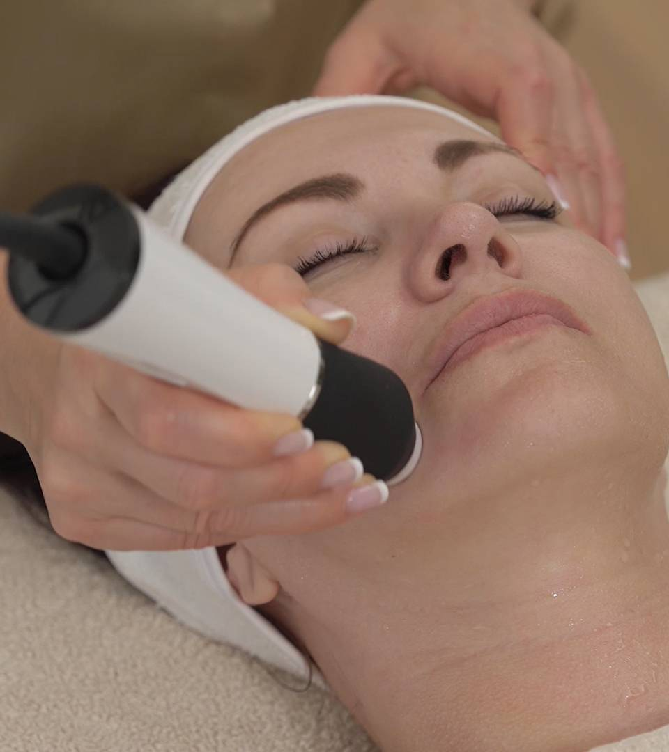 aplicator ultrasunete rejuvenare faciala hydracool plus
