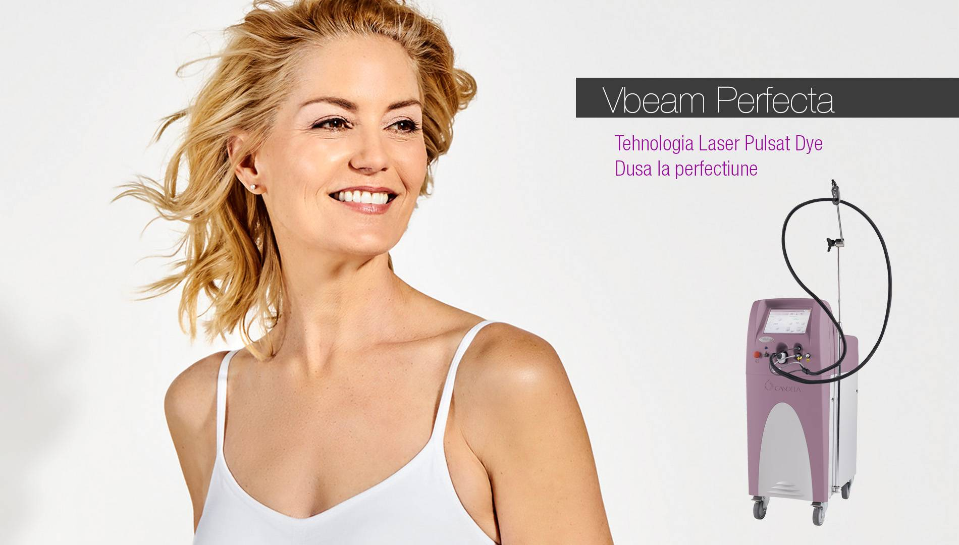 Aparat Laser Pulsat DYE - Vbeam Perfecta - Candela Medical
